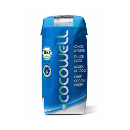 Cocowell Kokosvand Økologisk - 330 ml.
