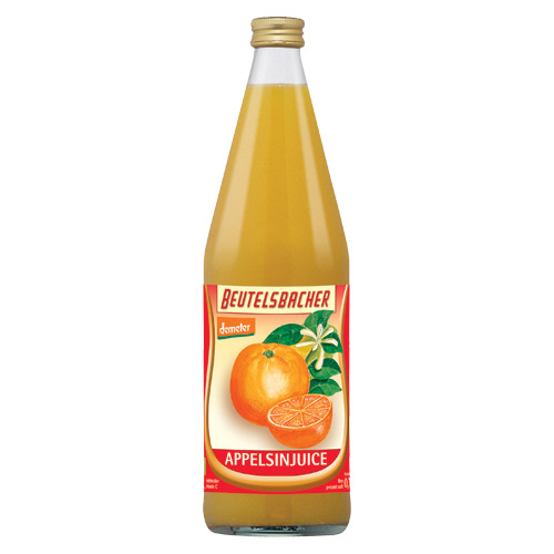 Image of Appelsinsaft Beutelsbacher Øko - 750 ml.