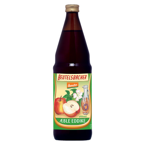 Æbleeddike fra Beutelsbacher Øko 750 ml.