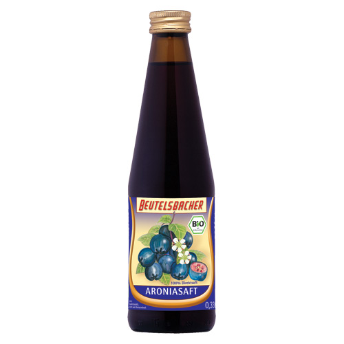 Image of Aronia juice Beutelsbacher Øko - 330 ml.