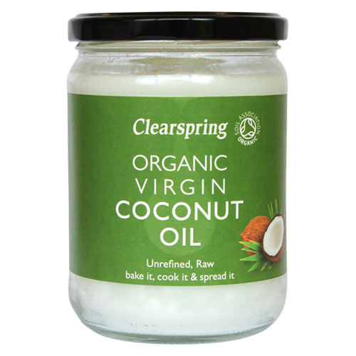 Billede af Kokosolie koldpresset Øko fra Clearspring - 400 gr