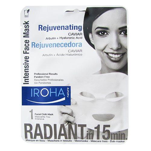 Iroha Tissue face mask rejuvenating caviar - 23 ml