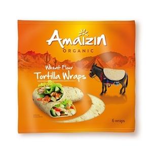 Image of Tortilla Wraps økologiske fra Biogan - 6 stk.
