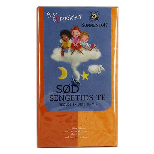 Sød Sengetids Børnete  Sonnentor Øko - 20 brev