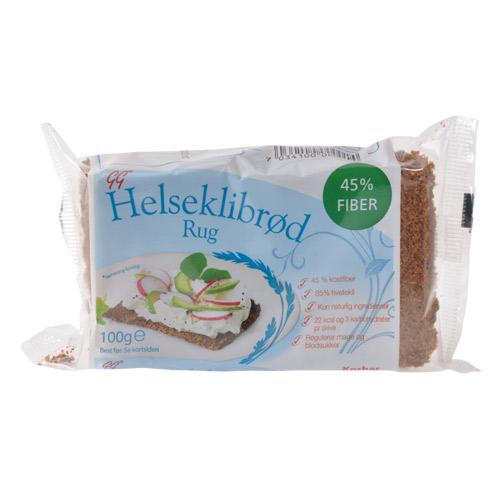 Image of Helseklidbrød Gundersen - 100 gram