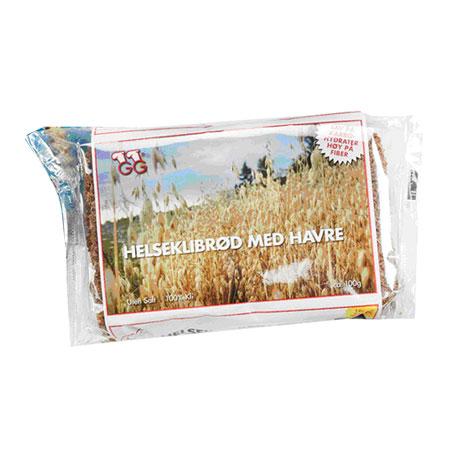 Image of Helseklidbrød med havre Gundersen - 100 gram