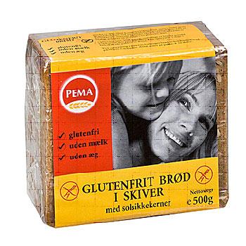 Image of Brød i skiver glutenfri fra Pema - 500 gram