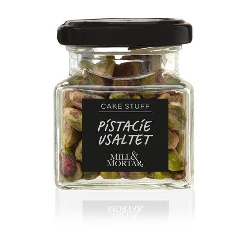 Pistacienødder afskallede usaltet Øko - 50 gram