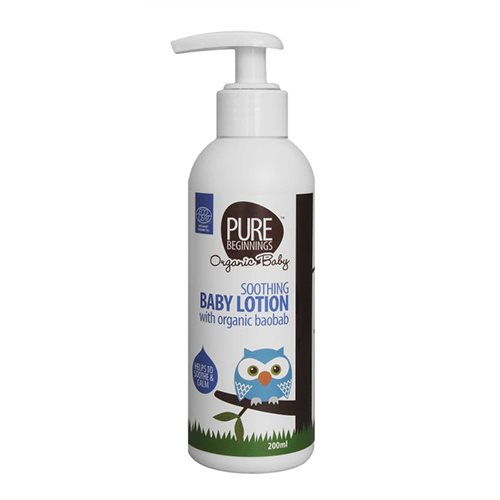 Soothing babylotion fra Pure Beginnings - 200 ml.