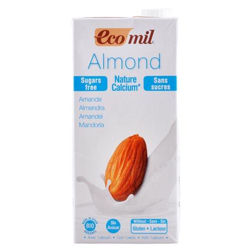 Image of Mandeldrik uden sukker med calcium Ecomil Ø - 1 l