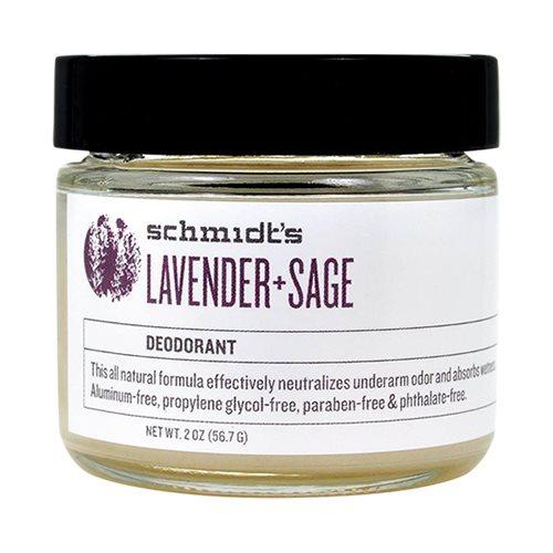 Schmidts Deodorantcreme Lavender Sage - 55 gr