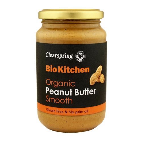 Image of Peanut butter Creamy Clearspring Øko - 350 gram