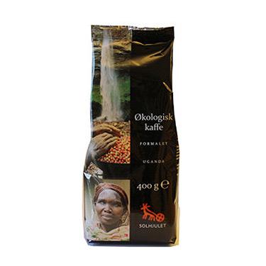 Kaffe Uganda Økologisk - 400 gram