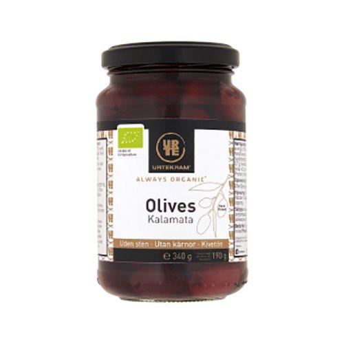 Image of   Oliven kalamata uden sten Økologiske - 340 gram
