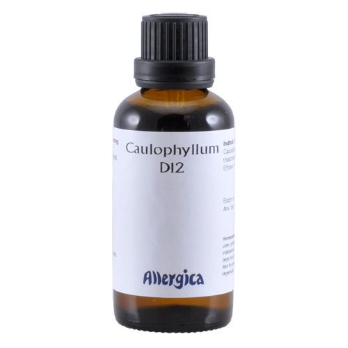 Image of   Caulophyllum D12 fra Allergica - 50 ml.