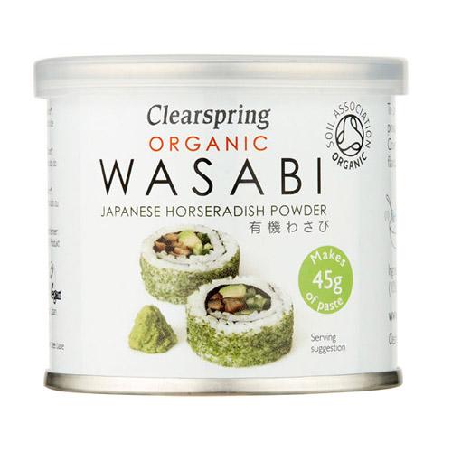 Wasabi pulver Økologisk fra Clearspring - 25 gram