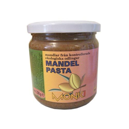 Mandelsmør brun fra Monki Øko - 330 gram