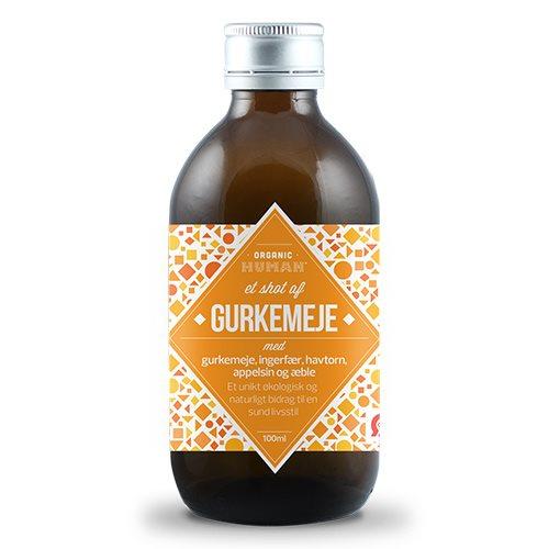 Image of HUMAN Gurkemejeshot Økologisk - 100 ml.