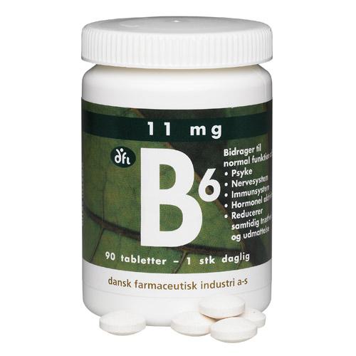 Image of   B6 Depottabletter - 90 tabletter