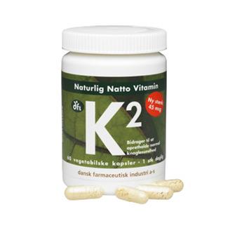 Image of Naturlig Natto vitamin K2 45 mcg