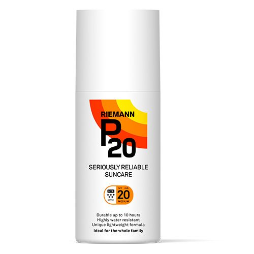 Image of   P20 Solbeskyttelse SPF 20 Spray (200 ml)