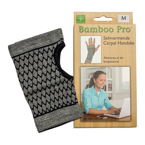 Image of Bamboo Pro Carpal handske selvvarmende Str. M
