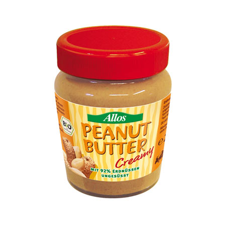 Peanutbutter Creamy Økologisk fra Allos - 227 gram