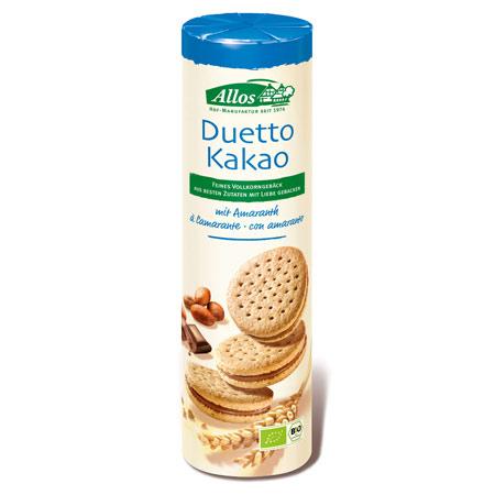 Image of Dobbelkiks med kakaocreme Ø Allos - 330 gram