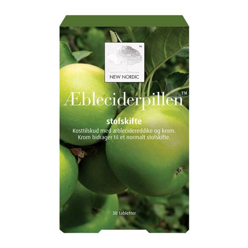 Image of Æbleciderpillen fra New Nordic - 30 tabletter