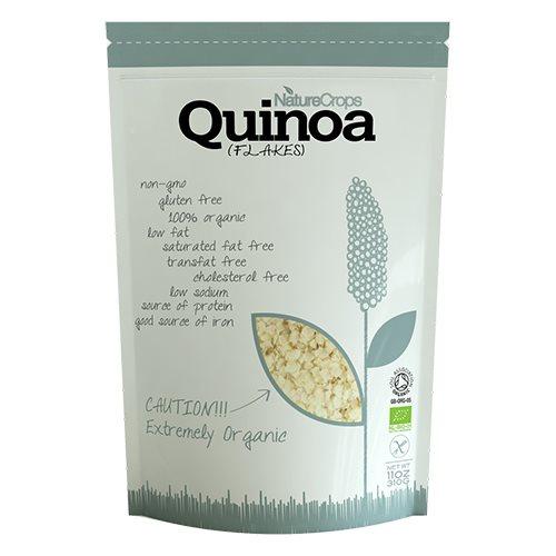 Quinoa Flager Økologiske fra NatureCrops - 310 gr