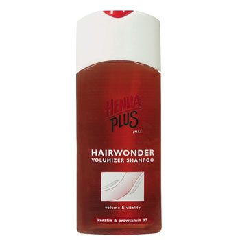 Image of   Volumizer shampoo Hairwonder Henna Plus - 200 ml.