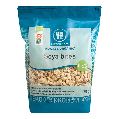 Soyabites fra Urtekram Økologisk  - 175 gram