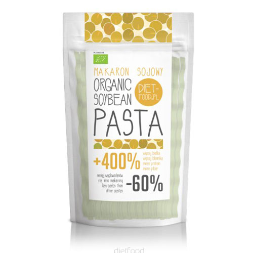 Image of   Soja fettuccine orange glutenfri Ø - 100 g