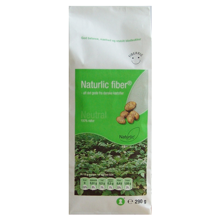Image of Fiber Neutral glutenfri Naturlic - 290 gram
