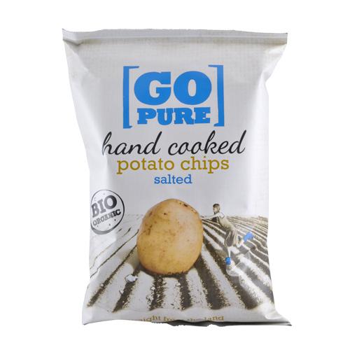 Image of Go Pure Chips med salt økologiske - 125 gram