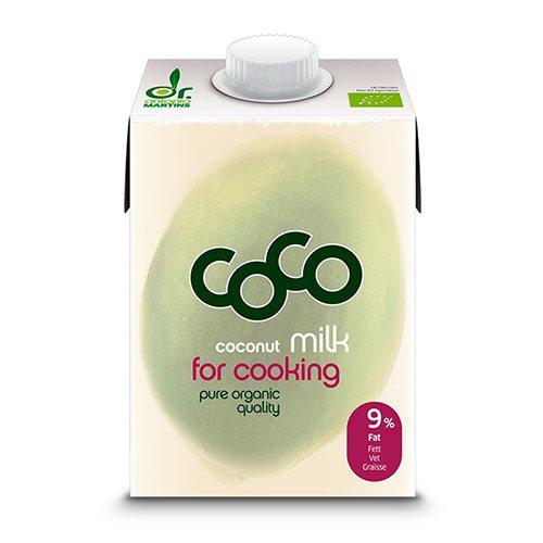 Image of   Dr. Martins Kokosmælk til madlavning øko - 500 ml.