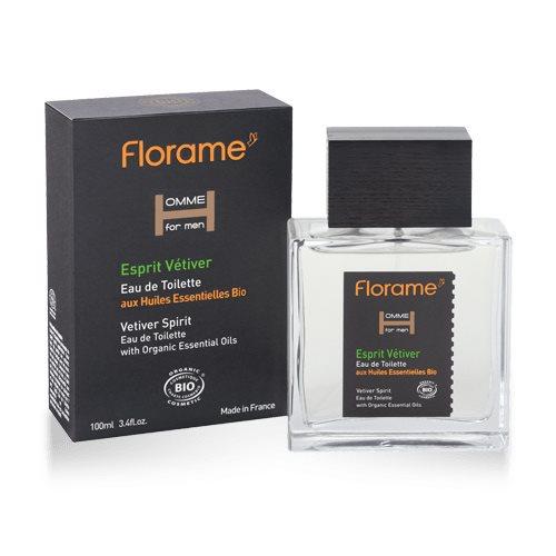 Florame EDT For Men Vetiver Spirit - 100 ml.