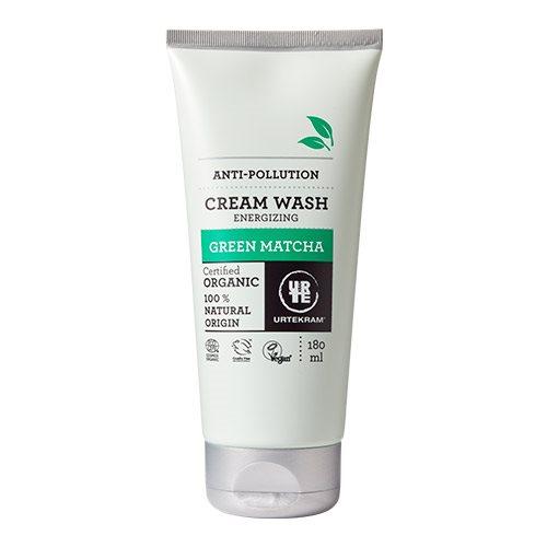 Billede af Urtekram Cream wash Green Matcha (180 ml)
