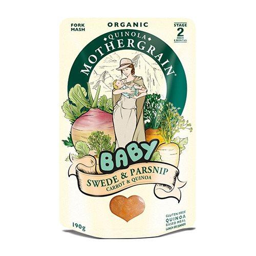 Babymos Kålroe Pasitnak Gulerødder Quinoa Ø
