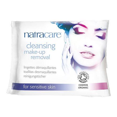 Image of   Natracare makeup fjerner vådservietter - 20 stk.