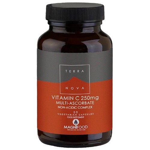 Vitamin C 250 mg. Terra Nova - 50 kapsler