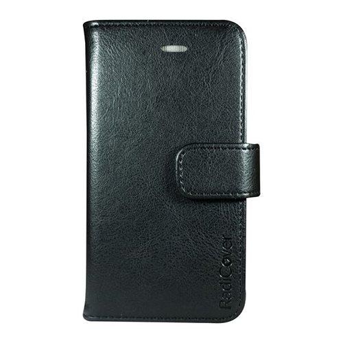 Image of Mobilcover iPhone 5-5s-5se sort PU-læder