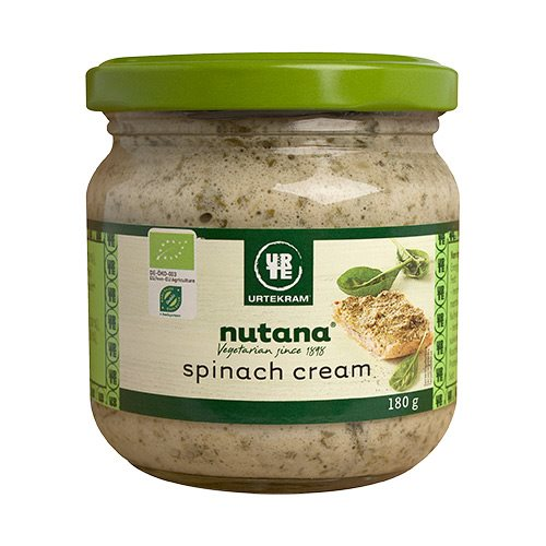 Image of Spinach cream Nutana Økologisk - 180 gram