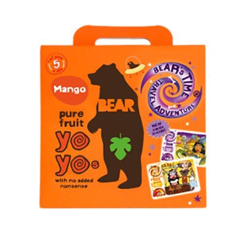 Image of Bear Yoyo multipak mango pure fruit 5x20 gram