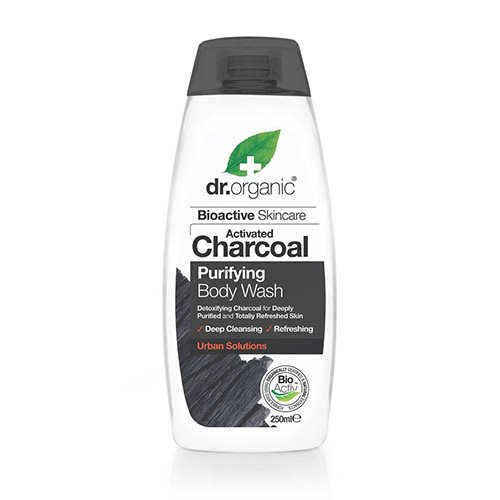 Dr. Organic Body Wash Charcoal Purifying