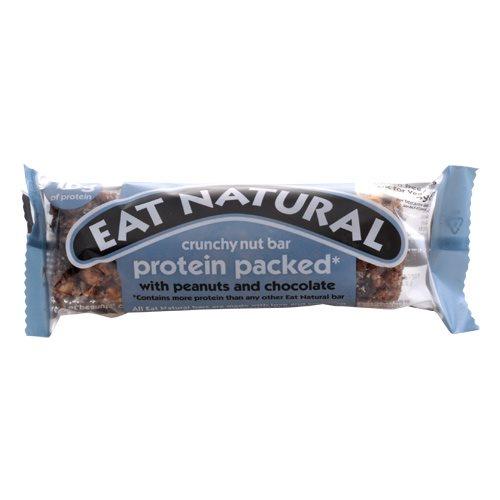 Eat Natural Proteinbar Peanuts & chokolade - 45 gr