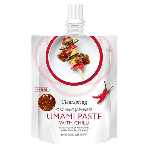 Japansk umamipaste med chilli Økologisk - 150 gram