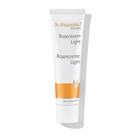 Image of   Dr. Hauschka Rosencreme Light - 30 ml.
