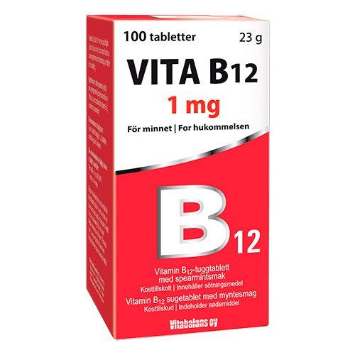 Image of   Vitabalans Vita B12 (100 tab)