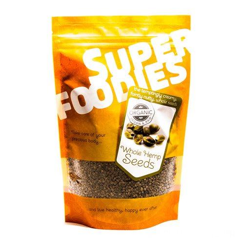 Image of Hampefrø hele Økologiske Super Foodies - 250 gram